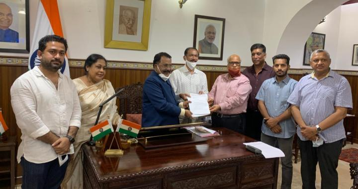 STATE GOVT FAILED TO PROTECT THE INTERESTS OF GOANS, CONGRESS SEEK DISMISSAL OF GOA GOVERNMENT FROM GOVERNOR PILLAI