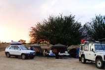 South Africans are the river rafters of the camping world - i.e., comfort is key! (courtesy of www.smitte.co.za)