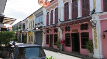 Chinese influenced architecture in Phuket Town.