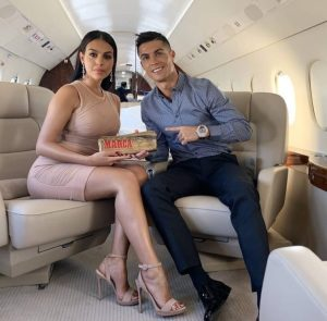 Cristiano Ronaldo's partner Georgina Rodriguez