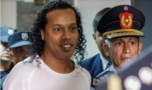Ronaldinho House Arrest In Paraguay