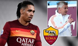 Chris Smalling Private Jet Roma Switch