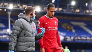 Virgil Van Dijk Injury New Update