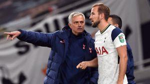 Kane Cover-Up Mourinho Sheffield Win