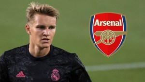 Martin Odegaard Arsenal Debut