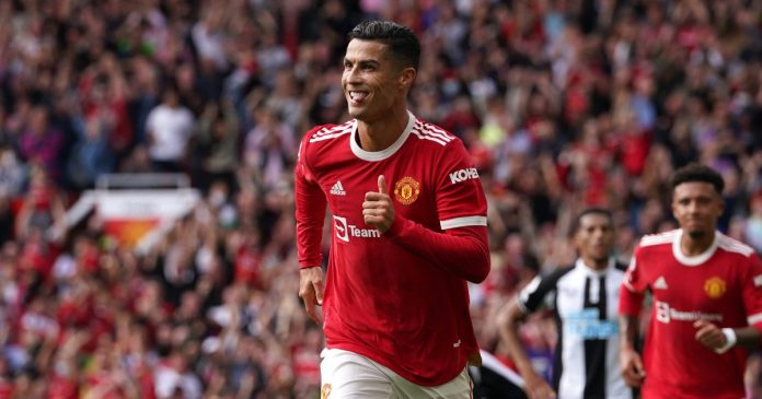 Ronaldo Helps United Beat Newcastle on Second Old Trafford Debut
