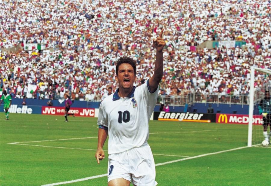 Roberto Baggio e i suoi diari italiani: 100 vecchie foto |  Golden Times