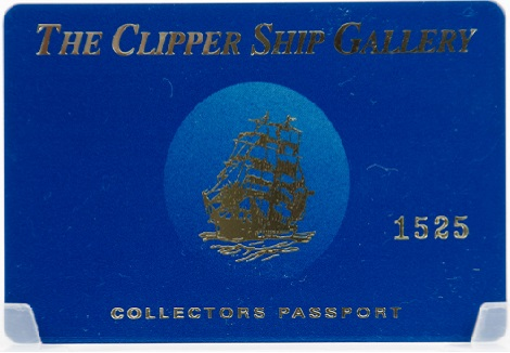 The Clipper Ship Gallery Customer Appreciation Card