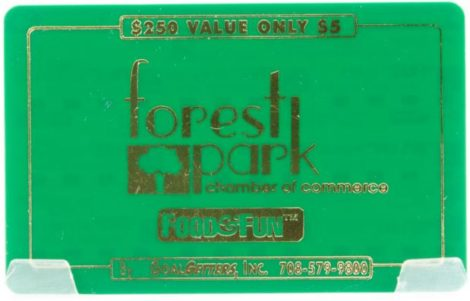 Forest Park Chamber of Commerce Fundraising Card