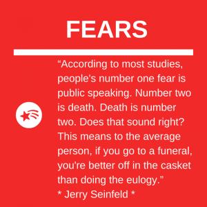 Fear of Public Speaking higher than Fear of Death?