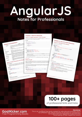 AngularJS Book preview