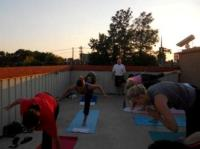 sunset yoga 2012