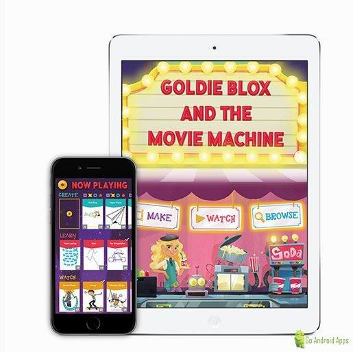 GoldieBlox and the Movie Machine