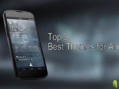 Top 5 Best Themes for Android