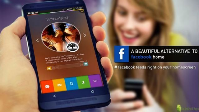Alias Facebook Home Launcher App