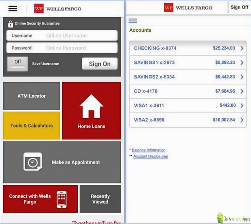 wells fargo mobile app 5.0