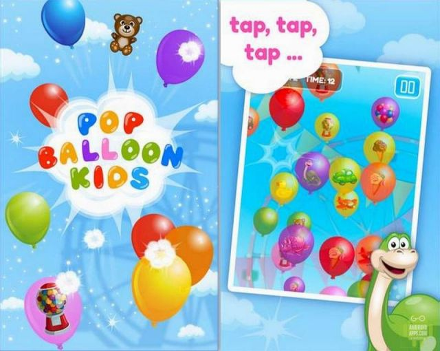 Pop Ballon kids Game