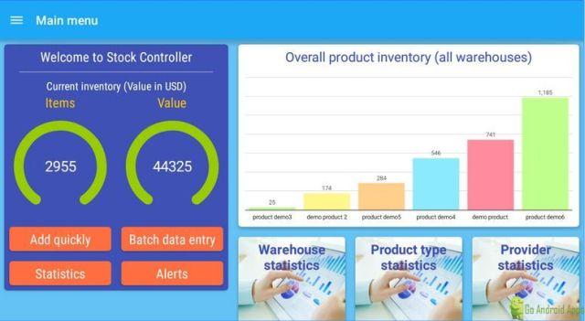Stock Controller App
