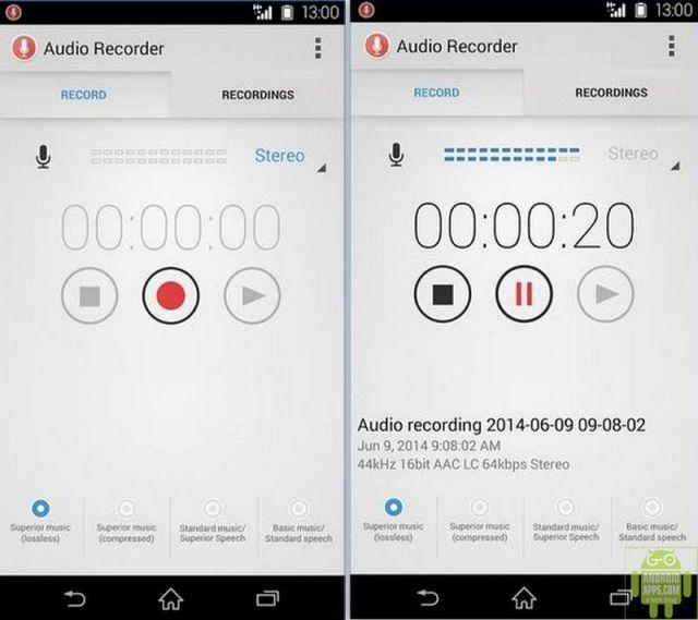 Audio Recorder App
