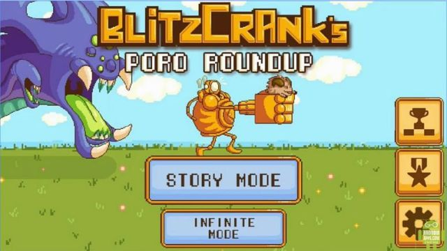 Blitzcrank's Poro Roundup Game