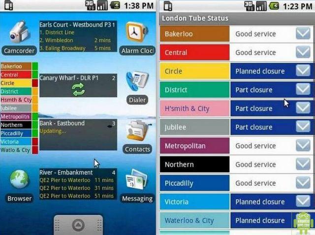 London Tube Status App