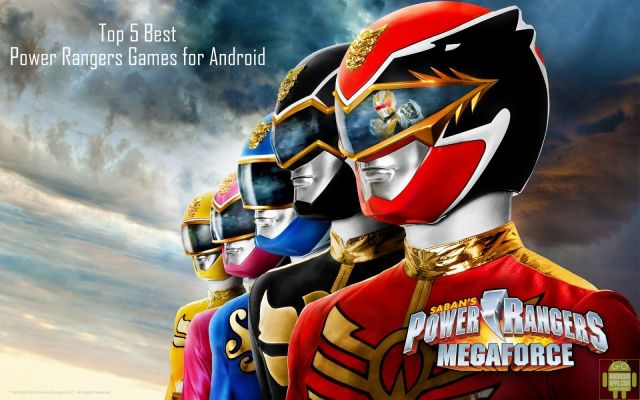 Top 5 Best Power Rangers Games for Android