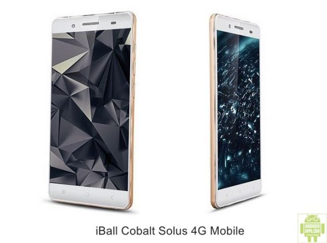 iBall Cobalt Solus 4G Mobile