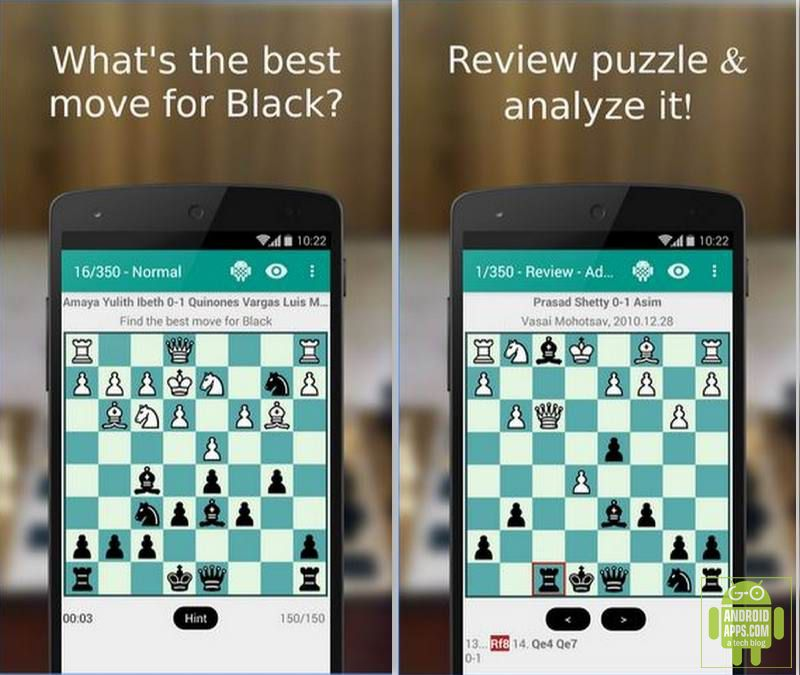 top 10 best chess games for android 2016