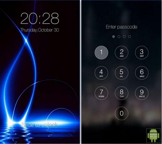 Passcode Keypad Lock Screen App
