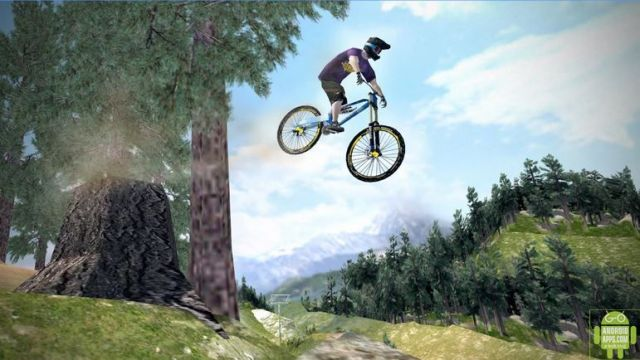 Shred Downhill Mountainbiking Game