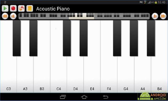 Real Piano and Keyboard App