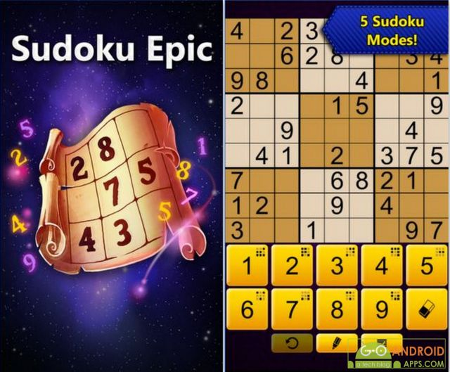 Sudoku Epic Game