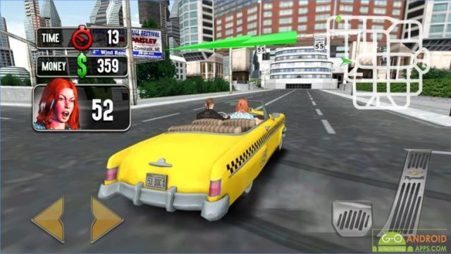 Thug Taxi Driver 3D Game
