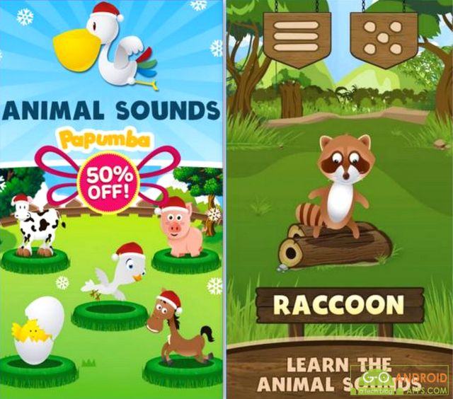 Animal Sounds Android Game