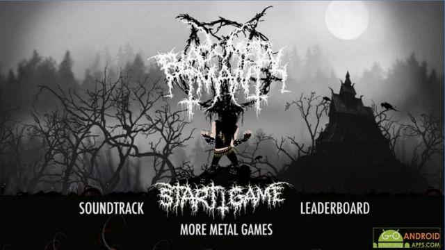 Black Metal Man Andorid Music Game