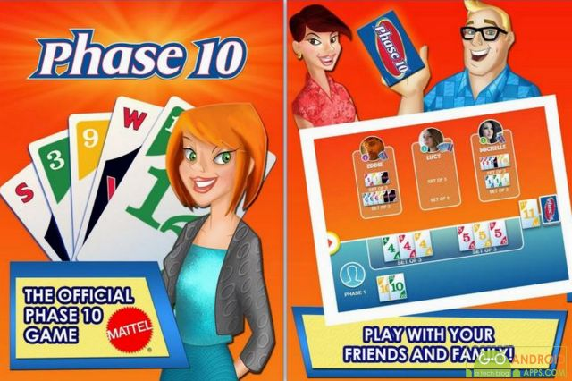 Phase 10 Android Card Game