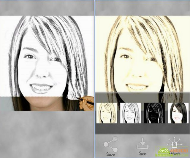 Sketch My Photo App