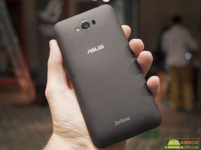 ASUS ZenFone Max Back Image