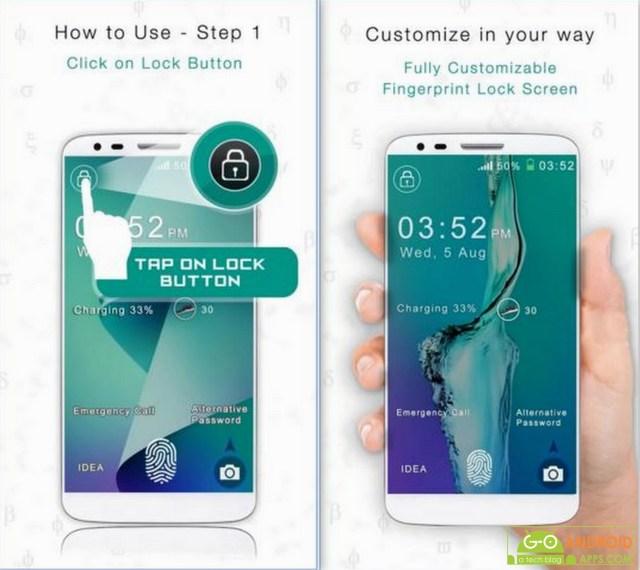 Fingerprint for Note 5 Prank App
