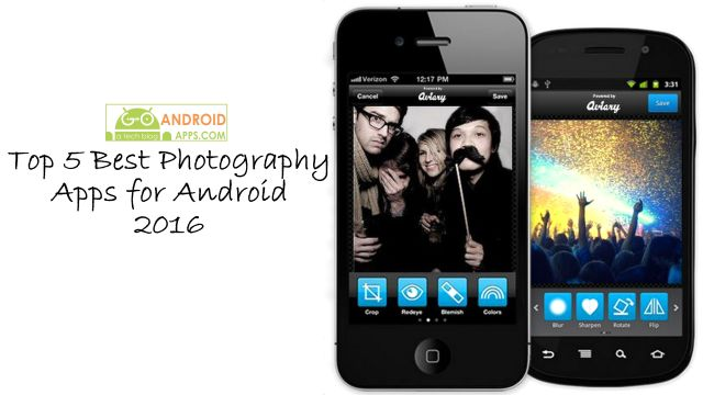 Top 5 Best Photography Apps for Android 2016