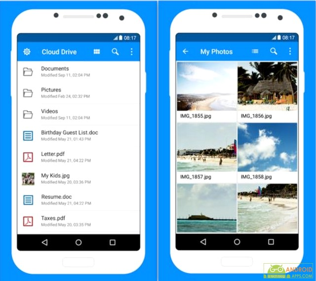 Amazon Cloud Drive android app
