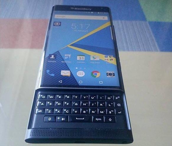 BlackBerry Priv Keyboard