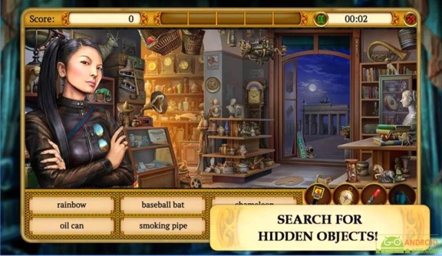 Hidden Object Mystery Society Android Game