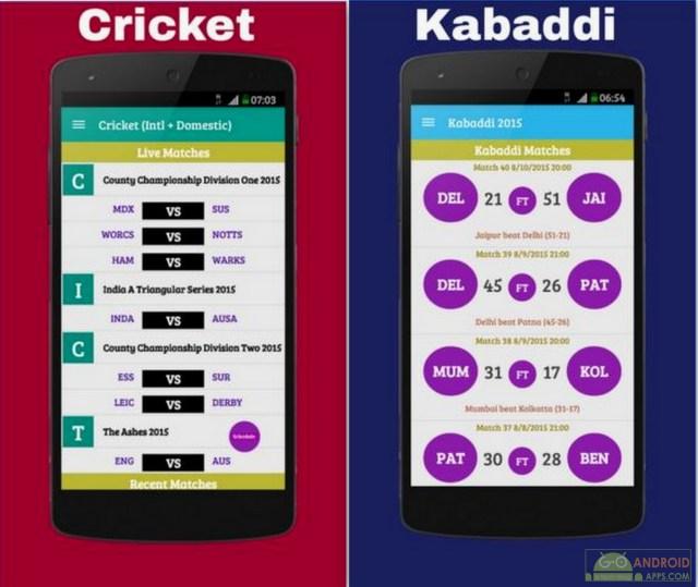 Live Kabaddi 2016 App