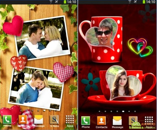 Love Photo Frames HD App