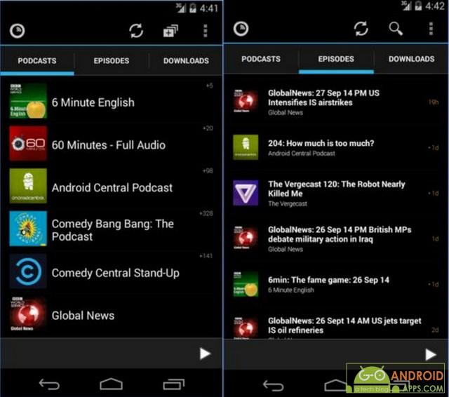 Podkicker Podcast Player App