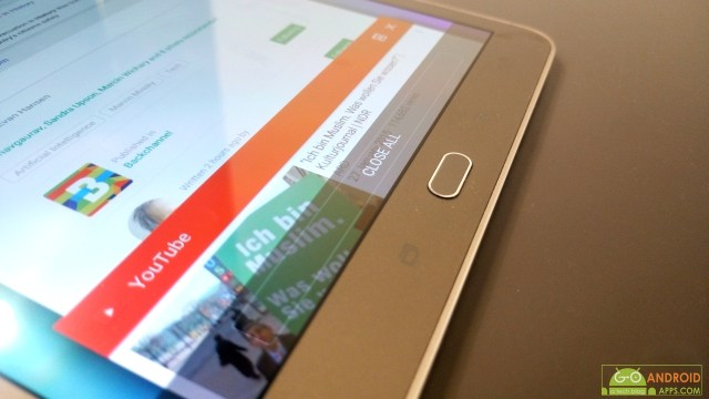Samsung Galaxy Tab S2 Display