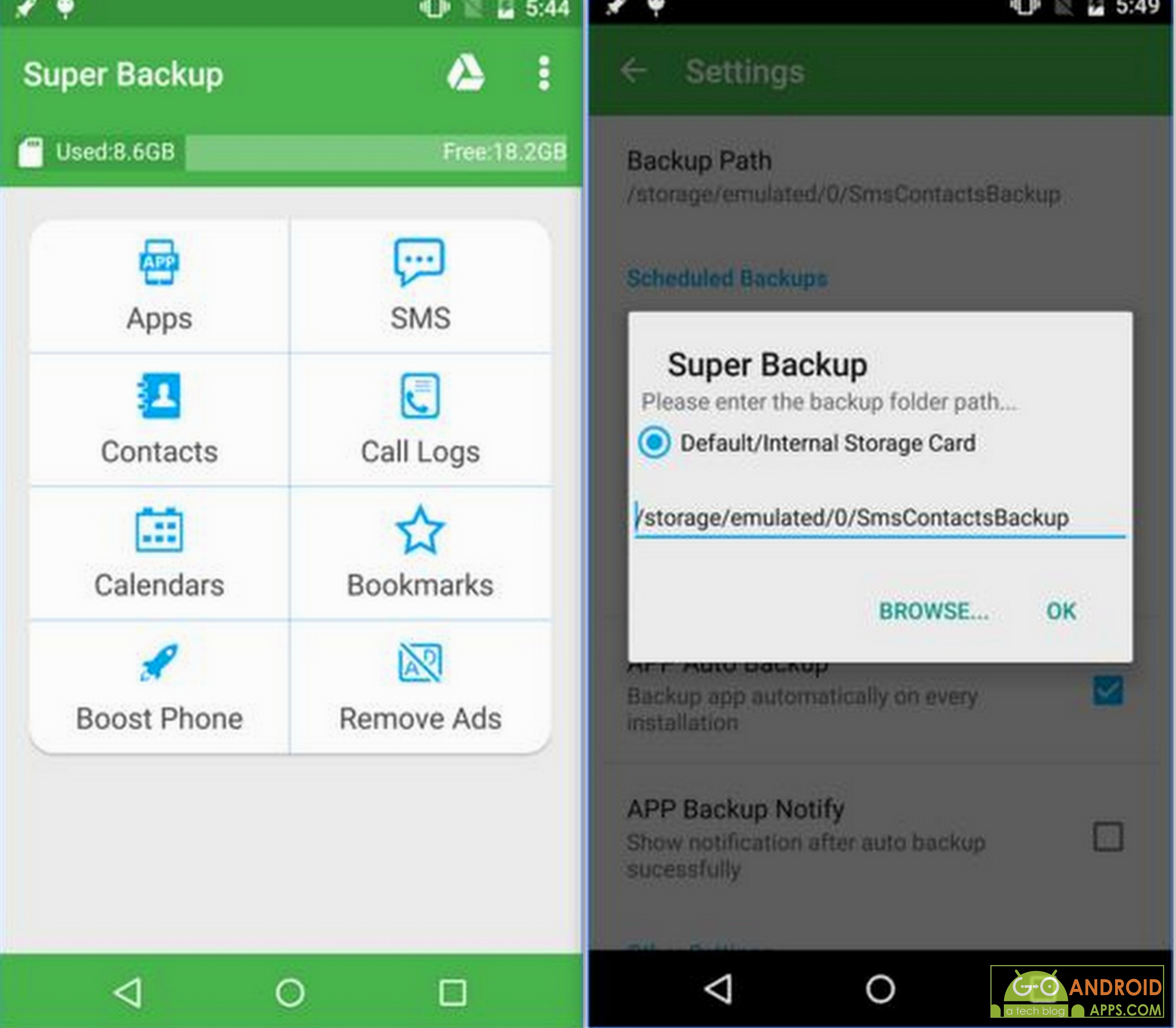 5 best contact backup apps for android go android apps