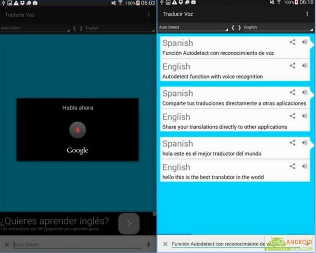 Translate voice - Translator App
