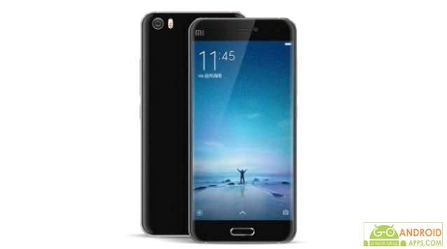 Xiaomi Mi 5 black leaked image